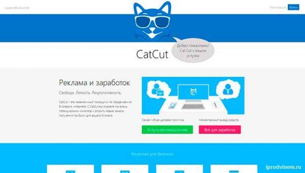 Как сделать короткую ссылку Catcut