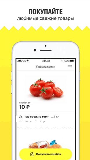 2ГИС Чек - приложение для кэшбэка с покупок в магазинах