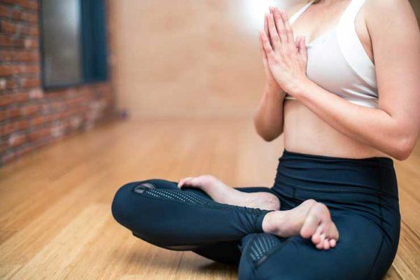 Занятие спортом Йога
