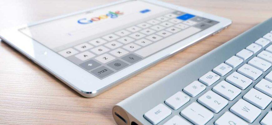 Поиск гугл на планшете