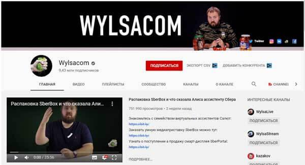 Канал WYLSACOM Валентина Петухова