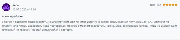 Отзыв о Яндекс Толока
