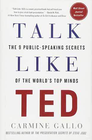 Книга Talk like TED The 9 public speaking secrets от Carmine Gallo