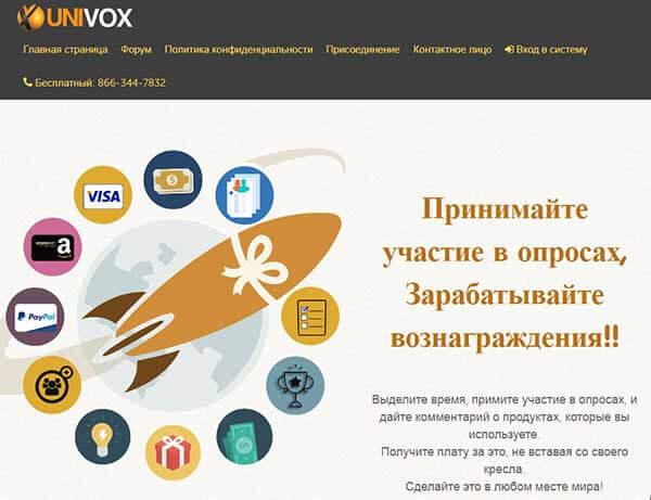 Опросник Univox Community