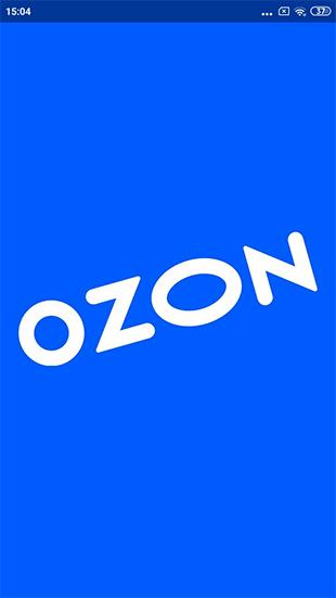 Запуск приложения Озон на телефоне