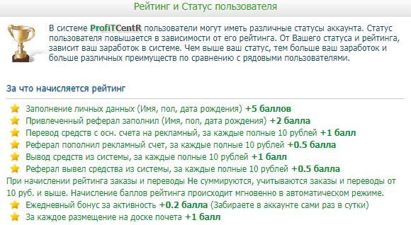 Карьера на буксе ProfitCentr