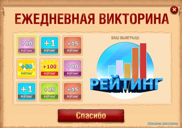 Выигрыш в викторине на бирже Text.ru